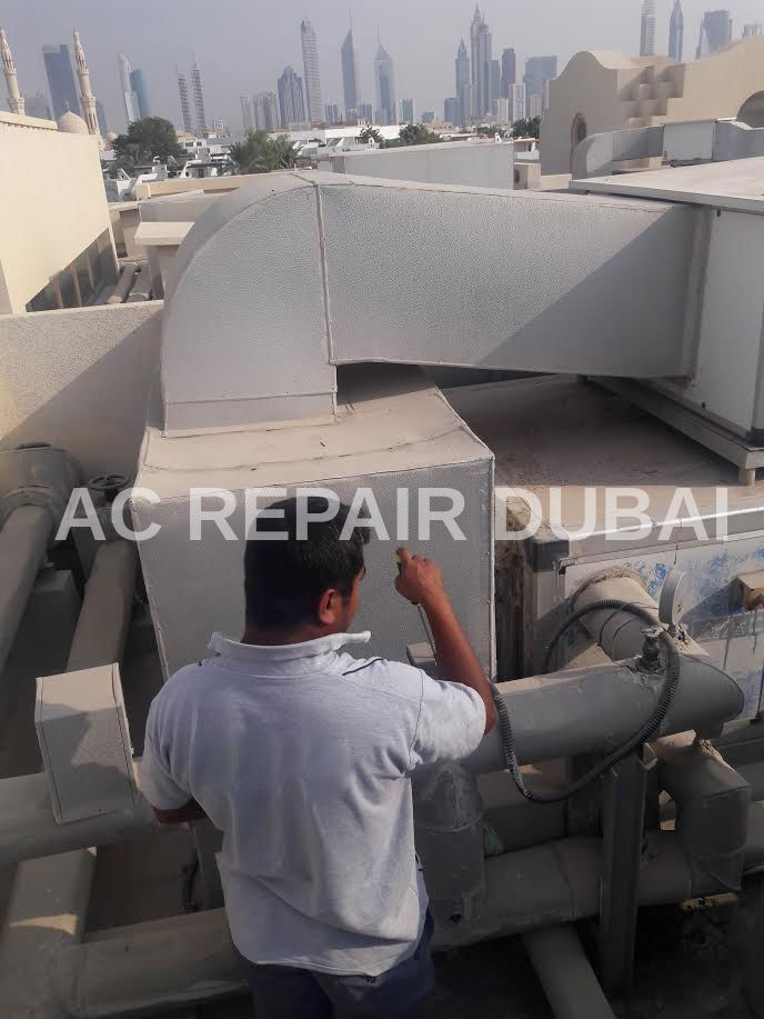central air conditioner repair & Maintenance